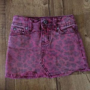 Toddler Jessica Simpson mini skirt